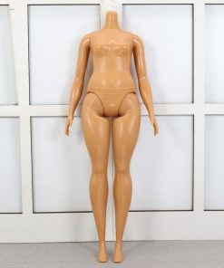 For Barbie Brand Variety Skin Fat Body Tones One Piece Figure American Girl Doll Toys For Children Birthday Gift Bonecas 1