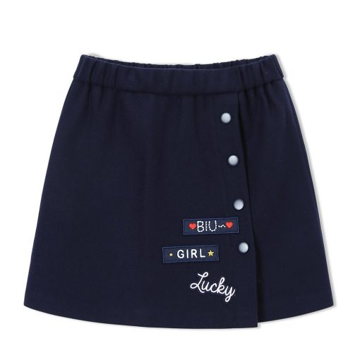 balabala Children Girls Skirts Autumn 2018 New A-line Skirt For Girls Fashion Fun Sweet Childs Clothes of Girl Short Skirts 1