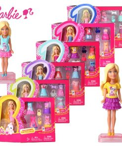 Barbie  1 Pcs doll Zodiac And Birthday Series Barbies Baby Toys With Dress Clothes American Girls Boneca juguetes DNT14 1