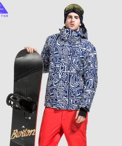 VECTOR Brand Ski Jackets Men Waterproof Windproof Warm Winter Snowboard Jackets Outdoor Snow Skiing Clothes HXF70012