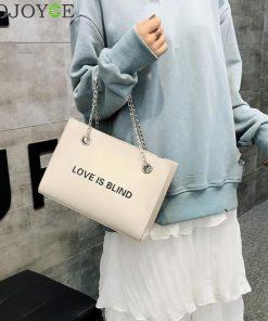2Pcs/set Fashion Women Shoulder Bags PU Leather Long Chain Handbag Ladies Casual Messenger Bag Girls Solid Color Bolso Mujer 1