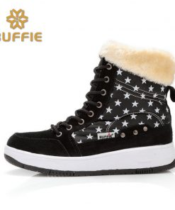 winter shoes women brand snow boots ankle short fur boots lace-up warm fur fits ture normal plus size 41 cow suede leather boots 1