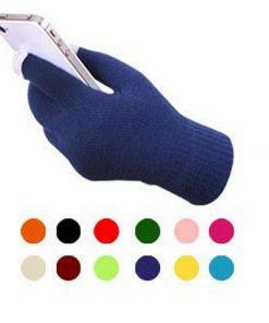 VISNXGI Winter Men Gloves Female Fashion Wrist Casual Gloves Soft Mittens For Touched Driving Warm Winter Gloves & Mitten Unisex