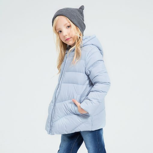 balabala Winter Jacket For Girls fashion duck down Parka for Children Coat children Clothes Jacket Hoodies toddler girls outwear 1