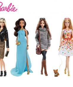 For Original Barbie Limited Collection Fashion Clothes 4 Style Party Princes Dress Accessories Dress Toys For Children Girl Gift