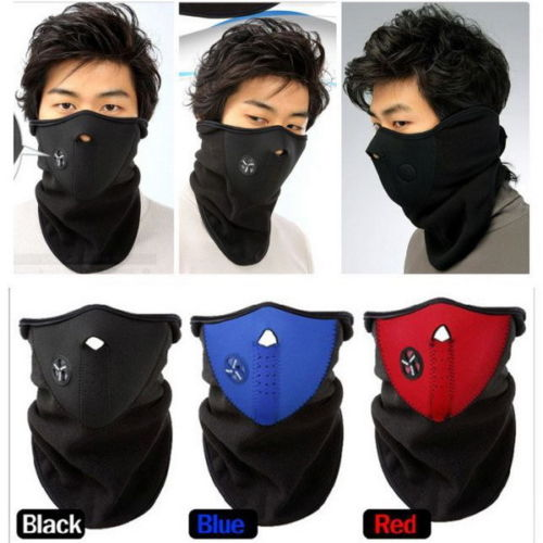 Neck Warm Half Face Mask Winter Sport Mask Windproof Bike Bicycle Cycling Mask Skiing Bibs Ski Snowboard Outdoor Masks Dust  2