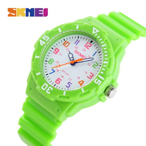 SKMEI Fashion Casual Children Watches 50M Waterproof Quartz Wristwatches Jelly Kids Clock boys Hours girls Students Watch 1043 1