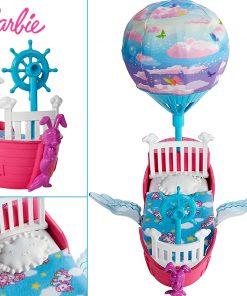 Barbie Original Spacecraft Hot Air Balloon Toy Little Kelly Doll Dream For Girl Birthday Children Gift Fashion Dolls For Girls 1