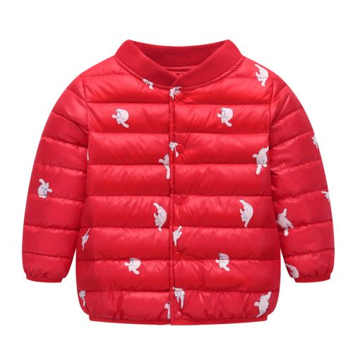 HH Toddler Girls winter coat Children Infant Baby Coat Clothes Boys Cotton Padded Jacket Warm snowsuit kids parka Dropshipping 3