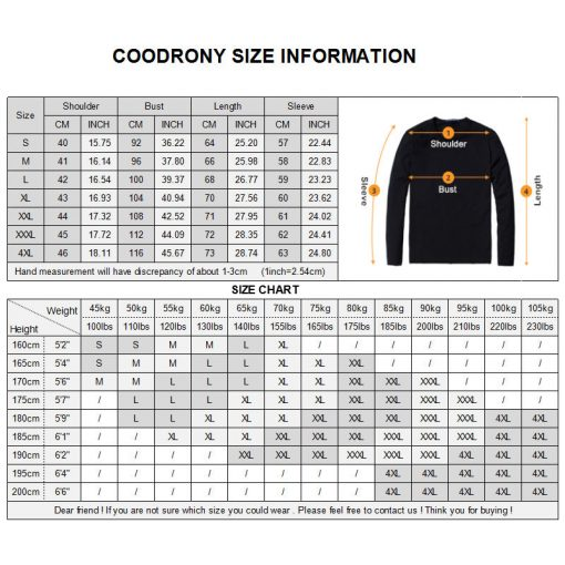 COODRONY 2018 New Arrival Hit Color Striped Patchwork Pullover Men V-Neck Pull Homme Casual Knitted Cotton Wool Sweater Top 6646 5
