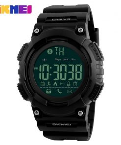 SKMEI Men Smart Watch Remote Camera Call Reminder Digital Wristwatches Pedometer Waterproof Man Sport Watches Relogio Masculino 1