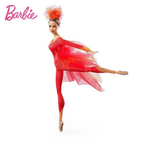 New Original Barbie Doll  Pink Label Actionr Misty Copeland Barbie ColletorToy Girl Birthday Present Girl Toys Gift Boneca DGW41 4