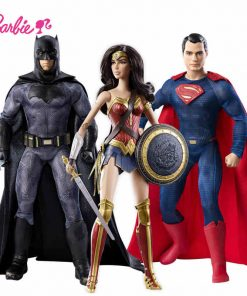 Barbie Origina Barbie Superman Series Batman War Barbie's Batman DGY04 Superman DGY05 Wonderful Woman DGY06 Best Choose For Gift 1