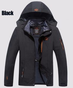 PEILOW Big Size 6XL 7XL 8XL spring Male Jacket design Man's Waterproof Windproof Warm Coat Jacket Jacket Men Casual Jackets 1