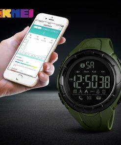 SKMEI Men Fashion Smart Watch Waterproof Pedometer Digital Wristwatches Remote Camera Calorie Bluetooth Watch Relogio Masculino 1