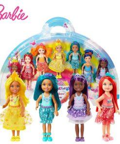 Original Barbie Toy Cove 7 Doll Dreamtopia Rainbow  For Girl Birthday Children Gifts Fashion Figure Gift for Girls Boneca