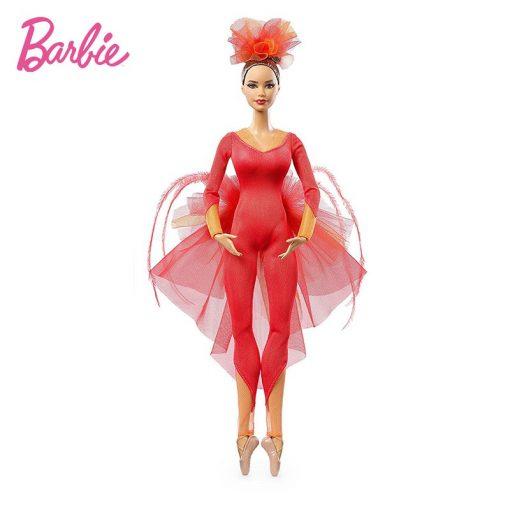 New Original Barbie Doll  Pink Label Actionr Misty Copeland Barbie ColletorToy Girl Birthday Present Girl Toys Gift Boneca DGW41 5