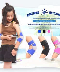 Kids Protection Shockproof Sponge Elbow Support Pads Depressurized Children Dance Sport Elbow Brace Keep Warm Protector