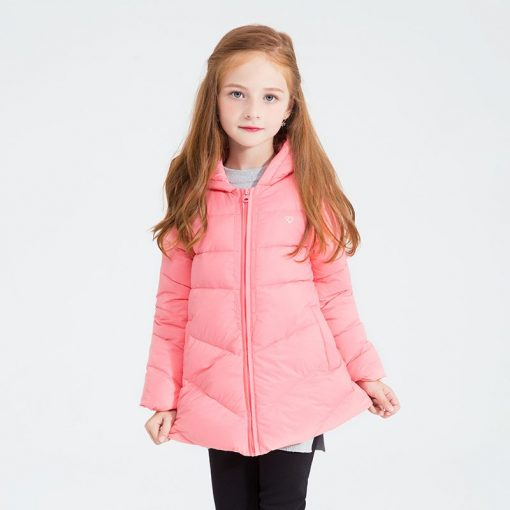 balabala Winter Jacket For Girls fashion duck down Parka for Children Coat children Clothes Jacket Hoodies toddler girls outwear 3