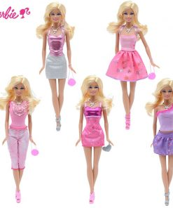 Barbie Original Fashion Combo Doll American Girl Toys Princess Designer Creative Desi Barbie Clothes Dress For Baby Girls Y7503 1