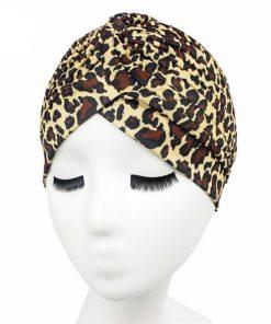VISNXGI 2018 Unisex High Quality Women's New Fashion Dot Rasta Turban Indian Style Head Cap Hat Hair Cover Various Print Design 1