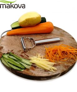 ERMAKOVA Dual Fruit Vegetable Peeler&Julienne Peeler Cutter Sharp Stainless Steel Potato Carrot Grater Planing Kitchen Tools 1