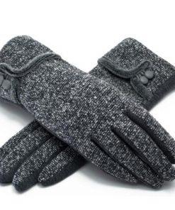VISNXGI Winter Autumn 2018 New Gloves For Women Wrist Length Fashion Mittens Gloves Female Women's Gloves Guantes High Quality  1