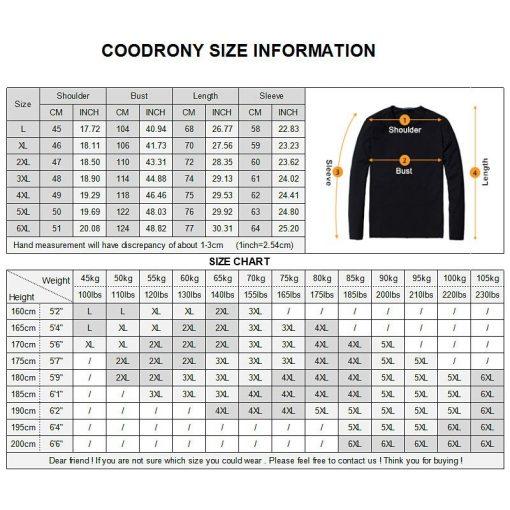COODRONY Winter Jacket Men Thick Warm Hooded Parka Men Clothes 2018 New Arrival Fashion Casual Long Coat Men Zipper Overcoat 833 5