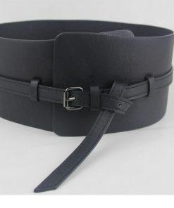 Free Shipping High quality fashion punk dual-use ultra wide query system curved cummerbund women's wide belt cummerbunds belts