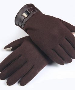 VISNXGI Winter Spring 2018 Fashion Cloth Cotton Wrist Plush Comfortable Soft Feeling Men Touched Mittens Gloves High Quality