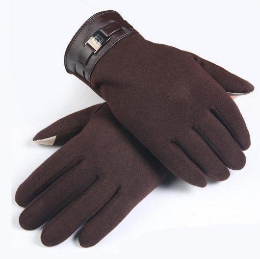 VISNXGI Winter Spring 2018 Fashion Cloth Cotton Wrist Plush Comfortable Soft Feeling Men Touched Mittens Gloves High Quality
