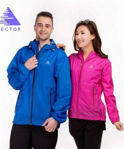 VECTOR Brand Ultralight Waterproof Jacket Summer UV Sun Protection Outdoor Coat Men Women Sport Running Fishing Hiking 60033