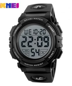 SKMEI New Sports Watches Men Outdoor Fashion Digital Watch Multifunction 50M Waterproof Wristwatches Man Relogio Masculino 1258
