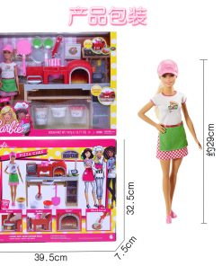 2018 New Original Making Fun Barbie Doll Pizza Barbie dolls The Girlbrinquedos Girl Toys Gift Boneca toys for girls children 1