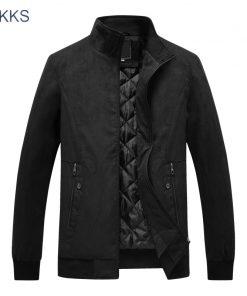 FGKKS Casual Brand Men Jackets Coat  Spring Winter Sportswear Mens Slim Fit Bomber Jackets Male Coat
