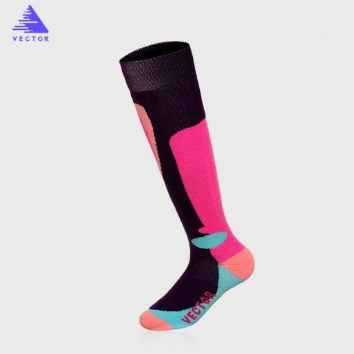 VECTOR Winter Warm Ski Socks Men Women Thick Merino Wool Socks Thermal Winter Sports Snowboard Soccer Cycling Skiing Socks 2