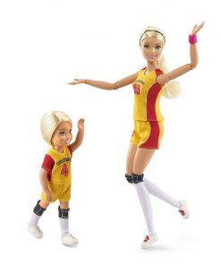 Original Barbie 2018  Fashion Doll Little volleyball teacher Barbie Girl Gift The Girl A Birthday Present Girl  Boneca FRL33 1