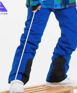 VECTOR Children Ski Pants Warm Waterproof Girls Boys  Skiing Snowboarding  Pants Winter Kids Child Ski Clothing HXF70011 1