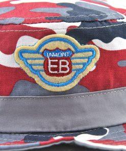 Xthree  New Cotton Summer cap kids camouflage bucket hat cap baby boy cowboy hat casquette garcon sun hat for children 1