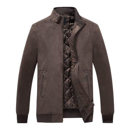 FGKKS Casual Brand Men Jackets Coat  Spring Winter Sportswear Mens Slim Fit Bomber Jackets Male Coat 4