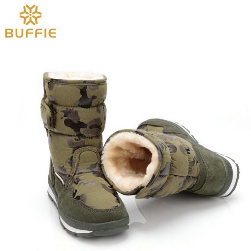 shoes Men winter warm boots camouflage snowboot small size to big feet popular new design fur insole male style free shipping 41 5