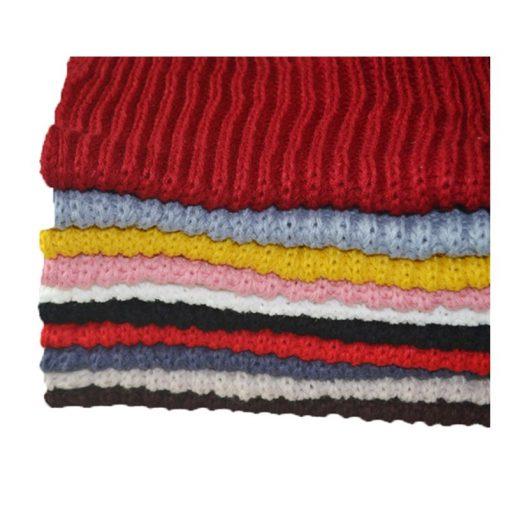 VISNXGI 2018 Winter Fashion Womens Warm Scarves Knit Neck Circle White Wool Blends Multi-purpose Wool Scarf Bufandas Hot Sale 5