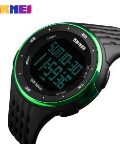 Hot Brand SKMEI New Sport Watch Women Style Waterproof LED Sports Military Watches Women's Digital Watch Relogio Masculino 1219 1