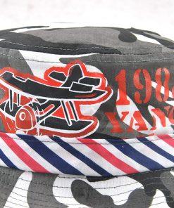 Xthree New Cotton camouflage bucket hat cowboy Summer cap kids cap baby boy hat casquette garcon sun hat for children 1