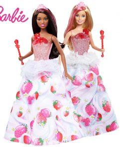 Original Barbie Doll Dream Sweet Princess With Music Light Toys Fashion Doll For Girls A Birthday Present Girl Toys Gift Bonecas
