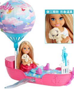 Barbie Original Spacecraft Hot Air Balloon Toy Little Kelly Doll Dream For Girl Birthday Children Gift Fashion Dolls For Girls