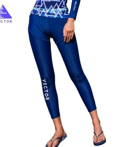 VECTOR Super Strech Surfing and Diving Pants for Women Swimming Rowing Sailing Surfing Wetsuit Surf Swimwear Rash Guards QS20007 1