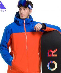 VECTOR Brand Ski Jackets Men Women Waterproof Winter Warm Skiing Snowboarding Jacket  Professional Snow Clothing Brand HXF70009 1