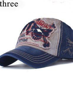 xthree cotton fasion Leisure baseball cap Hat for men Snapback hat casquette women's cap wholesale fashion Accessories 1