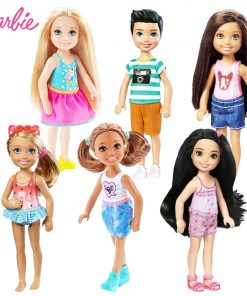 Original Mini Dolls  1 Pcs Barbie Model Random Cute Toy For Girl Birthday Children Gifts Fashion Dolls For Girls DWJ33